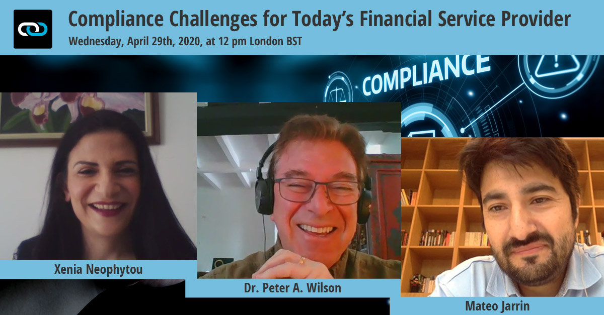 Compliance Challenges for Today's Financial Service Provider: The Transcript