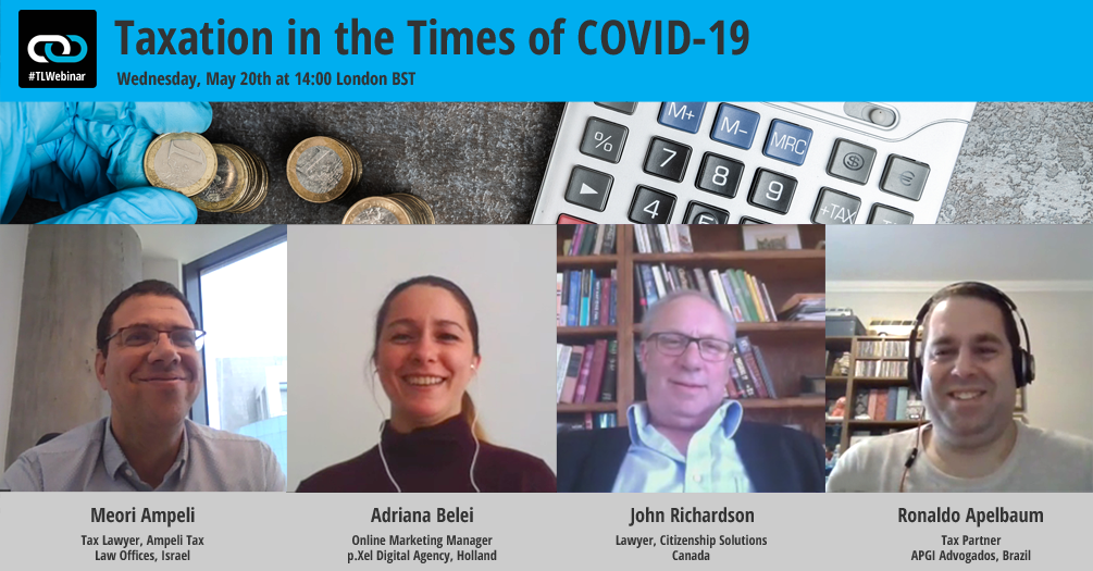Taxation in the Times of COVID-19: Part I