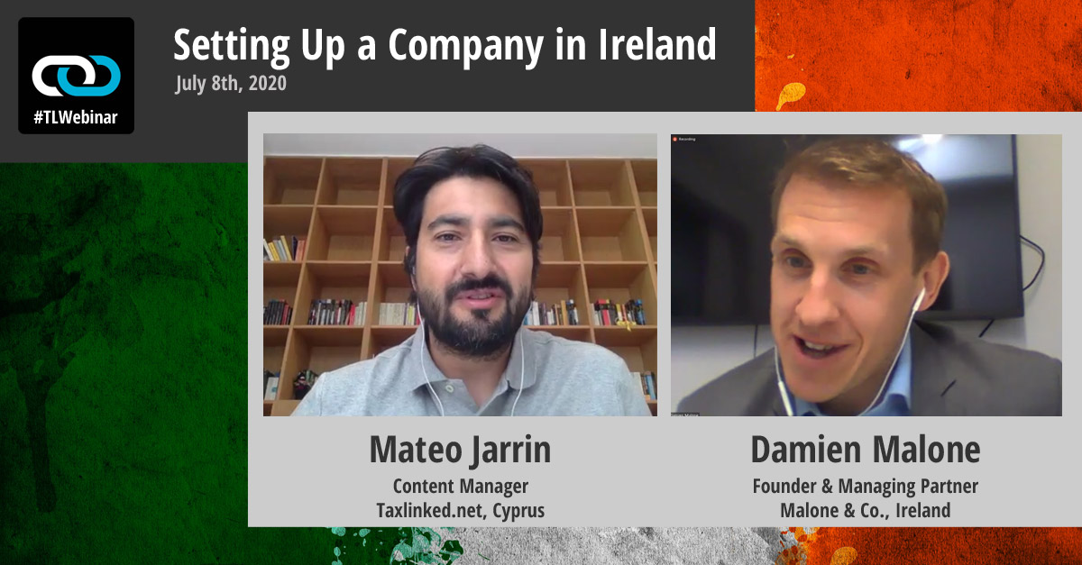 Setting Up a Company in Ireland: The Transcript